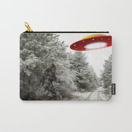 Superstition Road Winterscape Carry-All Pouch