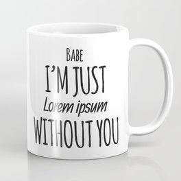 Lorem Ipsum Coffee Mug