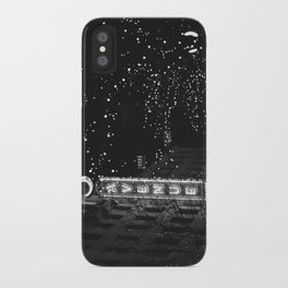 holiday in the city iPhone Case