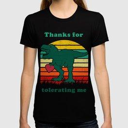 valentine dino T-shirt