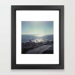 Beach Times Framed Art Print