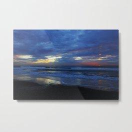 Sunset Color Splash Metal Print