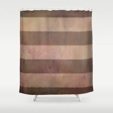 Mars Stripes Shower Curtain