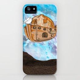 Nave : viagem no tempo iPhone Case