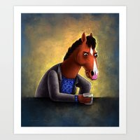 Never let anyone tell you you're pasture prime Art Print
