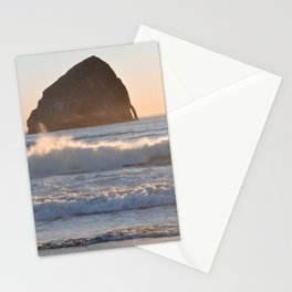 CAPE KIWANDA SUNSET - OREGON Stationery Cards