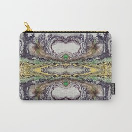 Weather cyclone, acrylic on canvas Carry-All Pouch