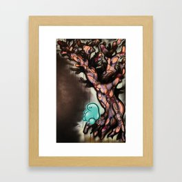 The Year 2020 When Trees Give Birth to People There Will be Balance and the Night Shall Sleep Again Framed Art Print