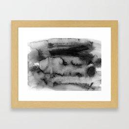 Melting peisage Framed Art Print