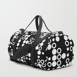 Playful Dots B&W Duffle Bag