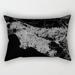 Los Angeles map  Rectangular Pillow
