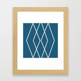 Deep Bleu Dream Framed Art Print