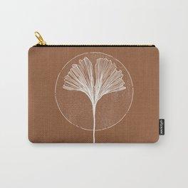 Wabi Sabi Ginkgo Leaf Carry-All Pouch