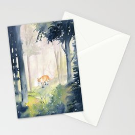Lone Fox Stationery Cards