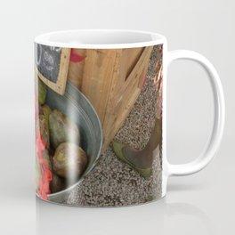 African Coconut Stand Coffee Mug