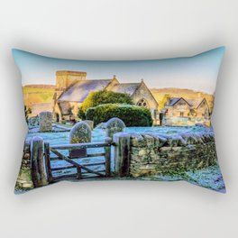 Snowshill View Rectangular Pillow