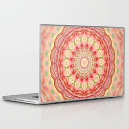 Mandala Tequila Sunrise -- Kaleidoscope of Vibrant Sunny Colors Laptop & iPad Skin