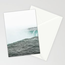 On the edge   Niagra Falls Canada travel photography waterfall nature Stationery Cards