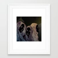 haim Framed Art Prints featuring Haim by Jessica Feral