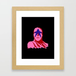 Star Man Framed Art Print