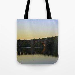 Fredericksburg Railroad Bridge Tote Bag