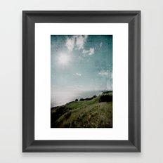 Ohope Lookout Framed Art Print