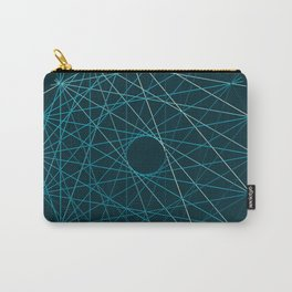 Blue Threads Carry-All Pouch