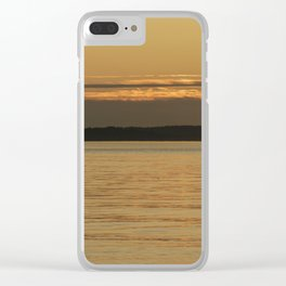 Sea Serenity Clear iPhone Case