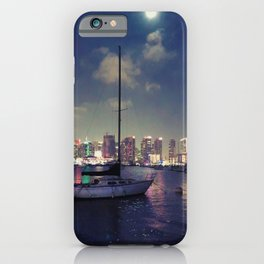 San Diego by Night - Oil iPhone Case