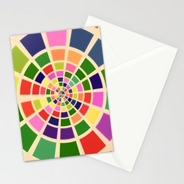 Roue multicolore Stationery Cards