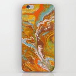 Orange Fizz iPhone Skin