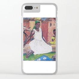 UGANDA Scene       by Kay Lipton Clear iPhone Case