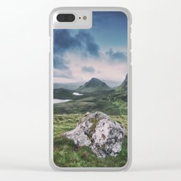 Up in the Clouds III Clear iPhone Case