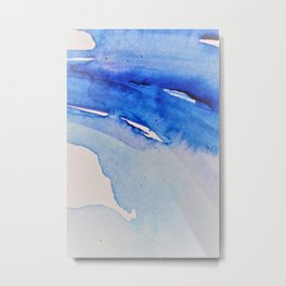 Spill Over Metal Print