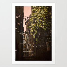Lamps in a Sunshine Art Print
