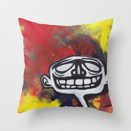 Grimace Throw Pillow