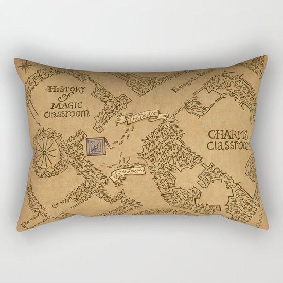 Evening Visit Rectangular Pillow