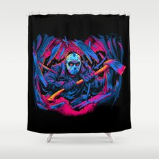 FRIDAY THE 13TH: FORCEFUL ENTRY Shower Curtain