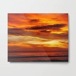 Another Beautiful Costa Rica Sunset Metal Print