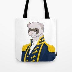Captain Ferret Tote Bag