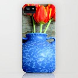 Elephantine Tulips iPhone Case
