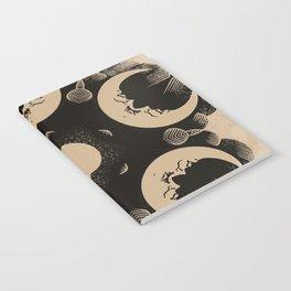 Ouija Wheel of the Moon - Beyond the Veil Notebook
