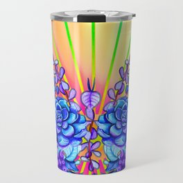 Psychedelic Butterfly Travel Mug