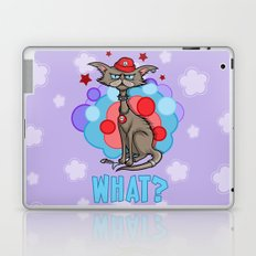 Cool Cat in a Red Hat Laptop & iPad Skin