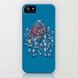 Blue Horde iPhone Case