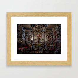 Chapel of Our Lady of Refuge Framed Art Print