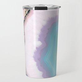 Rainbow Agate Slice Travel Mug