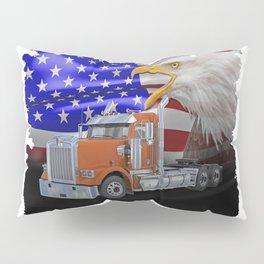 Kenworth Truck Pillow Sham