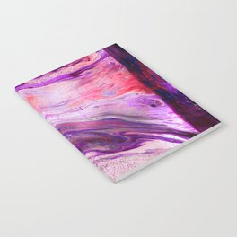 Marbled Garnet Notebook