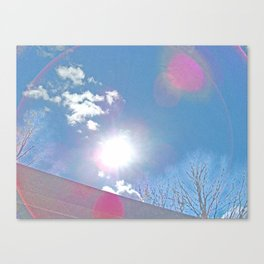 The Sun Bow Canvas Print
